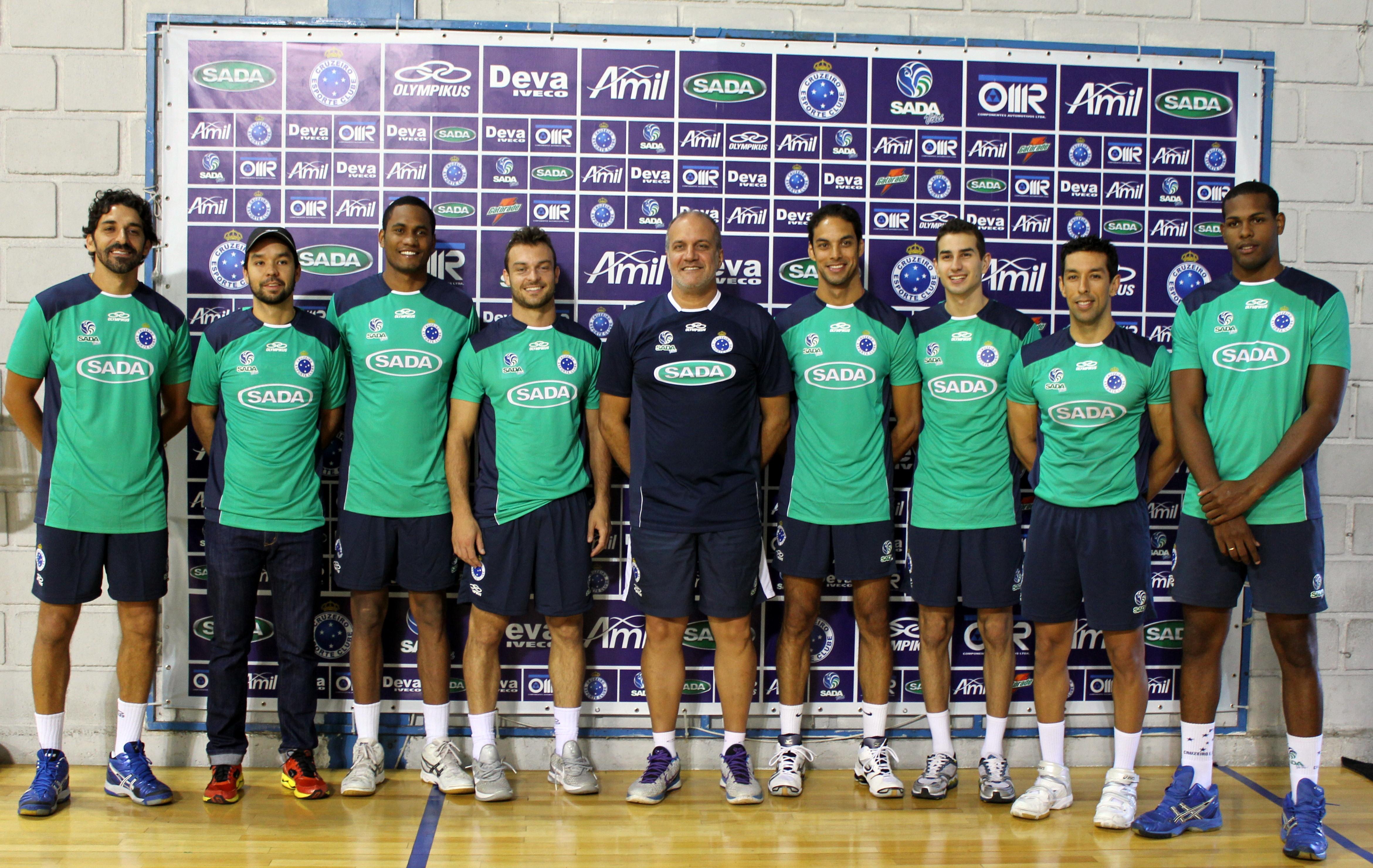 7fbfae6d1e Elenco do Sada Cruzeiro começa uma nova temporada — Sada Cruzeiro ...