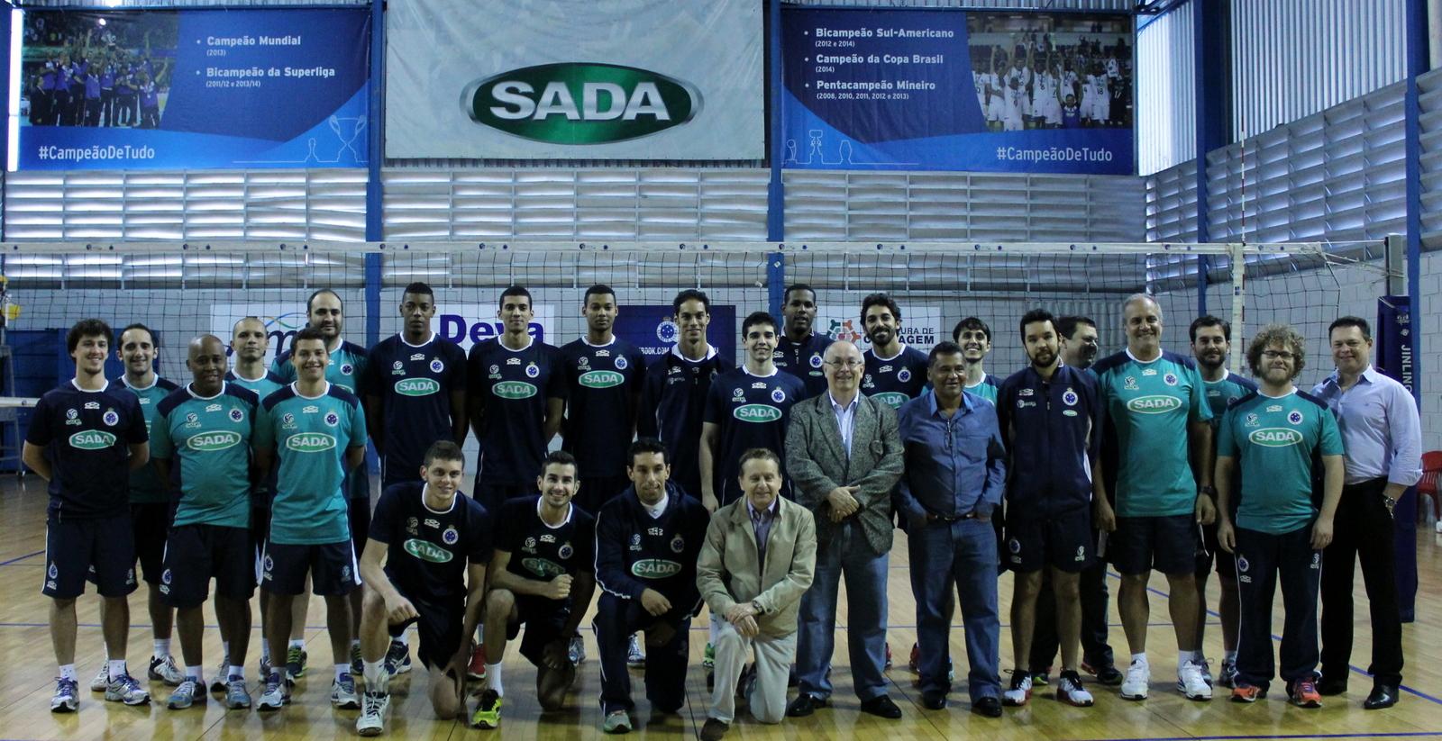 Sada Cruzeiro aposta no grupo para mais uma temporada de sucesso 4bb20d3911645