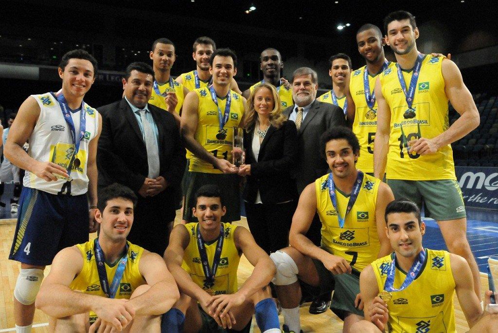 cadd35f6a16dc Cruzeirenses conquistam título da Copa Pan-Americana com a seleção  brasileira sub-23