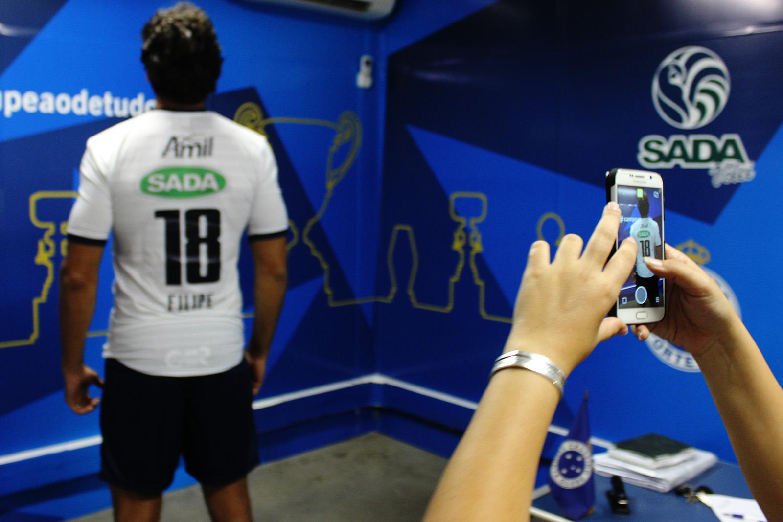 35fd009d9c255 Sada Cruzeiro apresenta uniforme para a temporada 2015 16 — Sada ...
