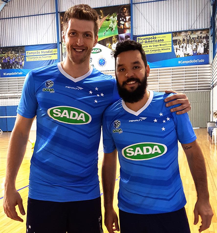 787b94d21b35a Éder e William reforçam os treinamentos do Sada Cruzeiro para o Mineiro e  Mundial