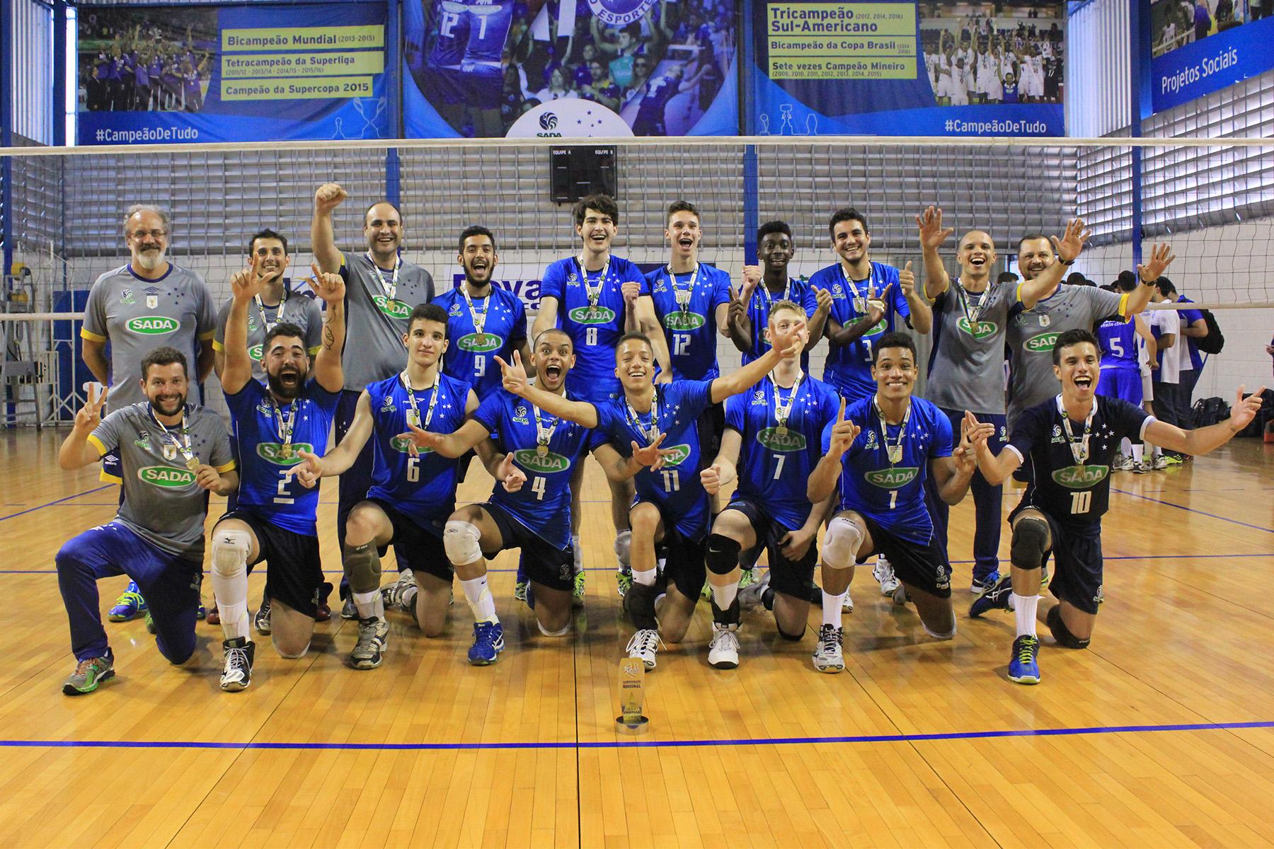 a397222e1 Sub-19 do Sada Cruzeiro bate Minas e é Tricampeão Metropolitano ...