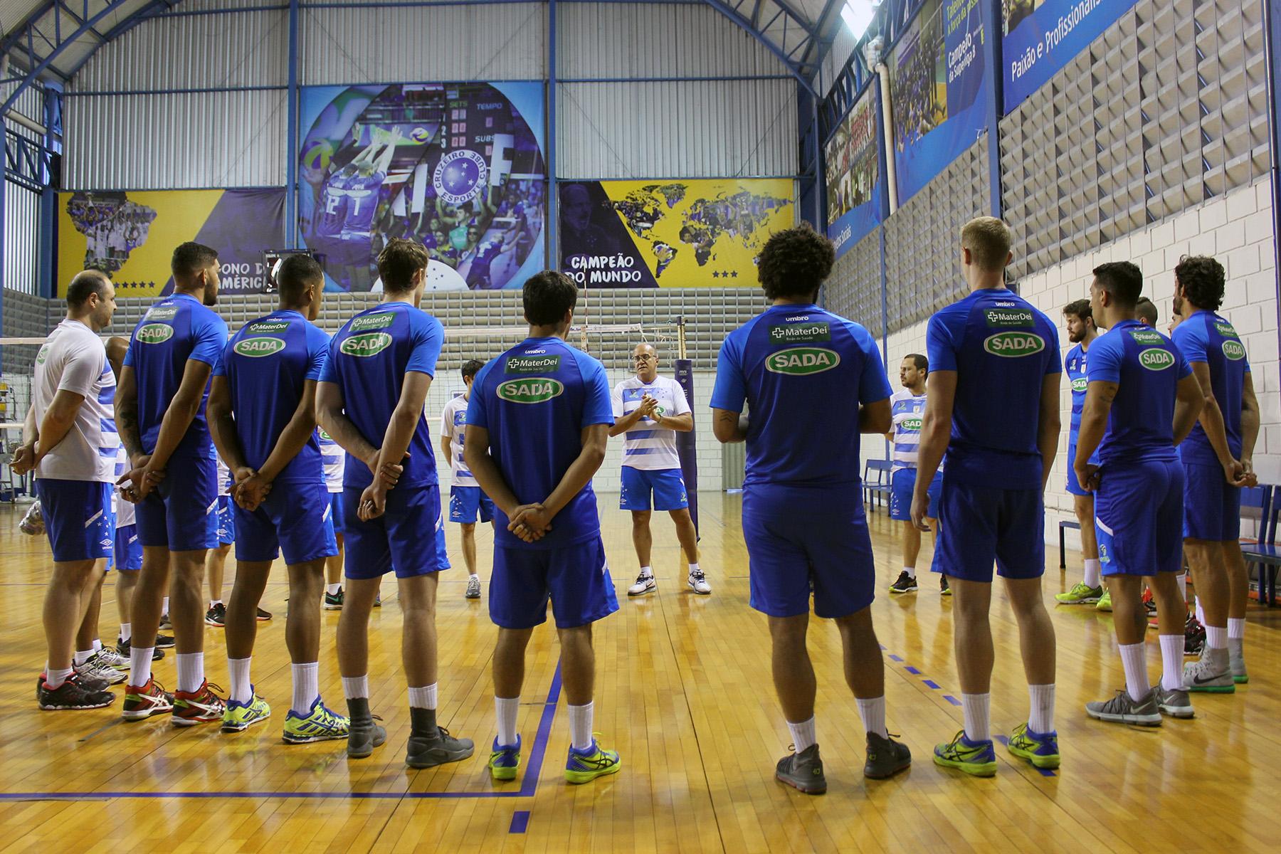 25a9126919c76 Sada Cruzeiro começa oficialmente a temporada 2018 19 de olho em mais  títulos