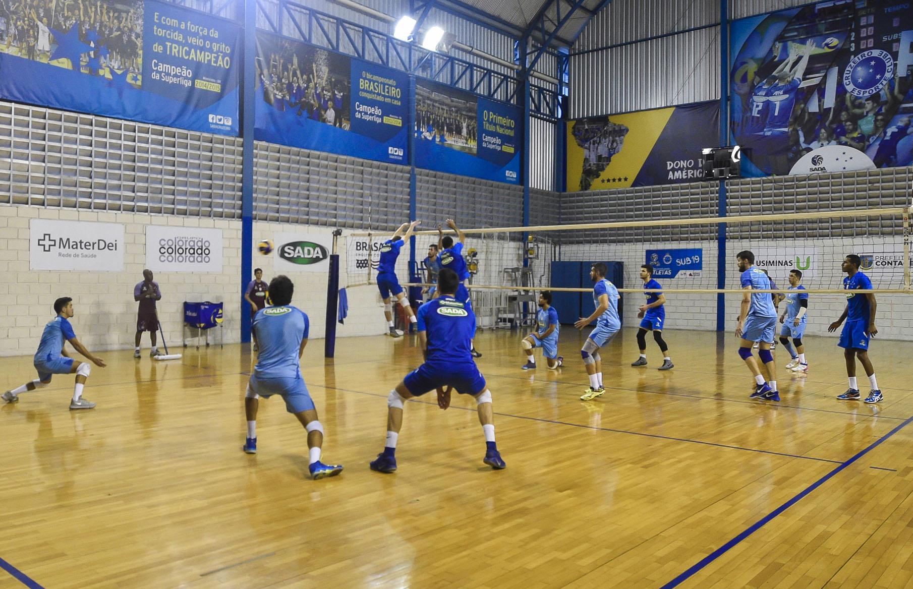 66d7f7333cb48 Sada Cruzeiro reforça preparação para a estreia no Mineiro